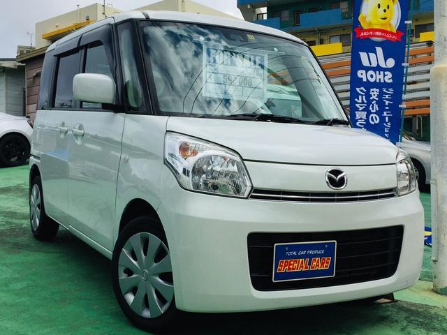 沖縄の中古車 マツダ フレアワゴン 車両価格 55万円 リ済込 2013(平成25)年 9.0万km パールホワイト