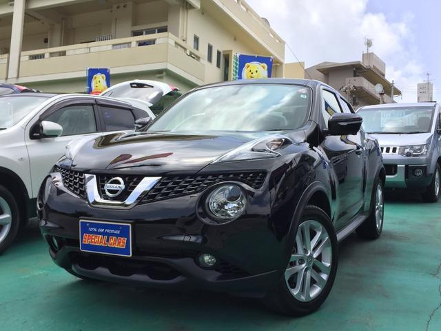 沖縄の中古車 日産 ジューク 車両価格 109万円 リ済込 2015(平成27)年 3.4万km ブラックM
