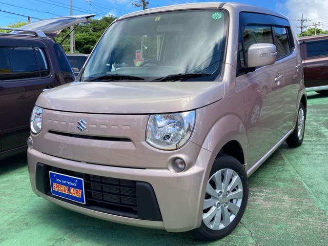 沖縄の中古車 スズキ MRワゴン 車両価格 64万円 リ済込 2014(平成26)年 5.2万km ピンクM