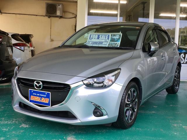 沖縄の中古車 マツダ デミオ 車両価格 98万円 リ済込 2017(平成29)年 3.4万km シルバーM