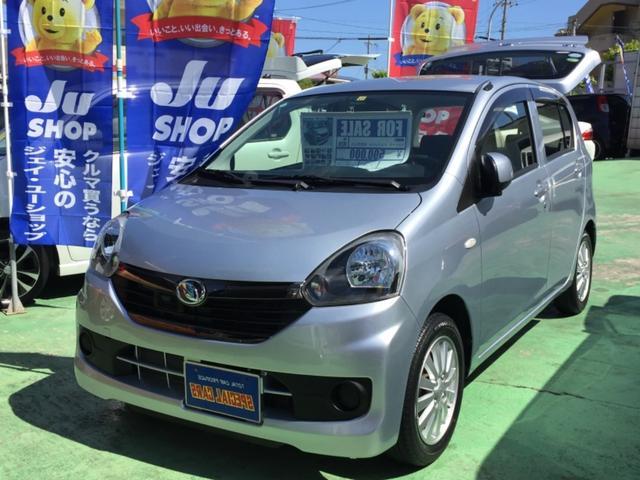 沖縄の中古車 ダイハツ ミライース 車両価格 54万円 リ済込 2016(平成28)年 2.2万km シルバーM