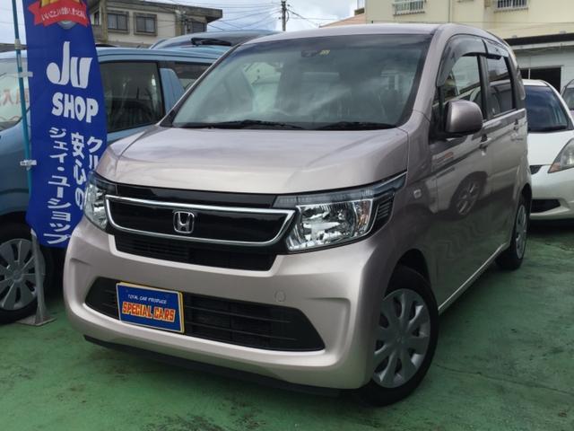 沖縄の中古車 ホンダ N-WGN 車両価格 55万円 リ済込 2013(平成25)年 5.4万km ピンク