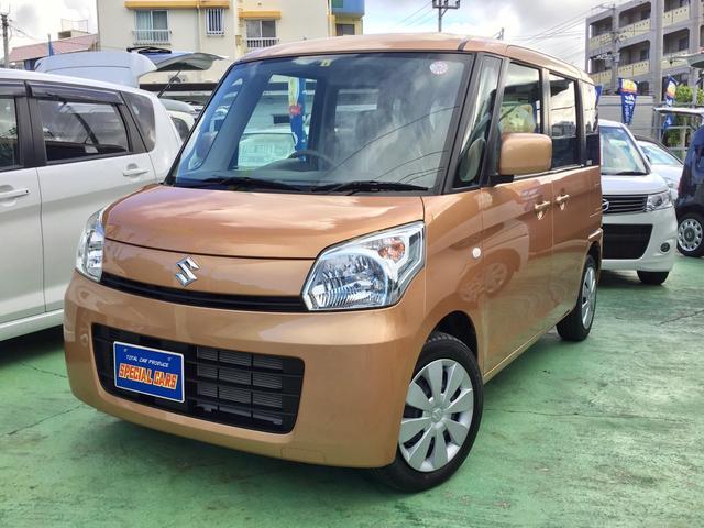 沖縄県の中古車ならスペーシア X ナビTV スマートキー デュアルパワースライドドア HIDライト アイドルストップ