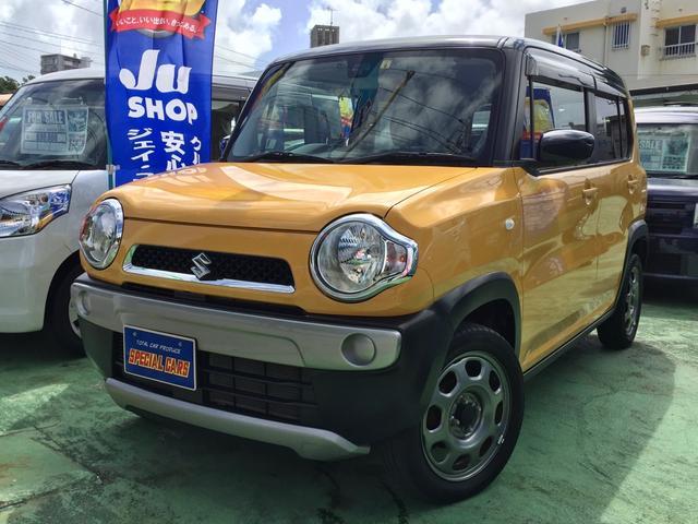 沖縄の中古車 スズキ ハスラー 車両価格 95万円 リ済込 2016(平成28)年 4.3万km イエローII