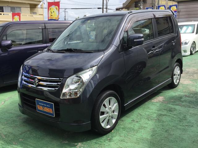 沖縄県宜野湾市の中古車ならワゴンR FXリミテッド スマートキー プッシュスタート
