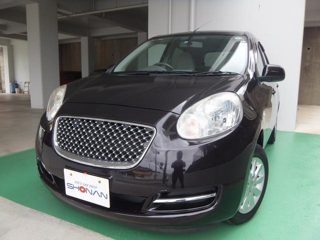 沖縄の中古車 日産 マーチ 車両価格 39万円 リ済込 平成22年 5.3万km ワインM