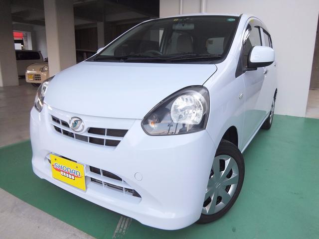 沖縄の中古車 ダイハツ ミライース 車両価格 54万円 リ済込 平成24年 7.1万km ライトブルーM