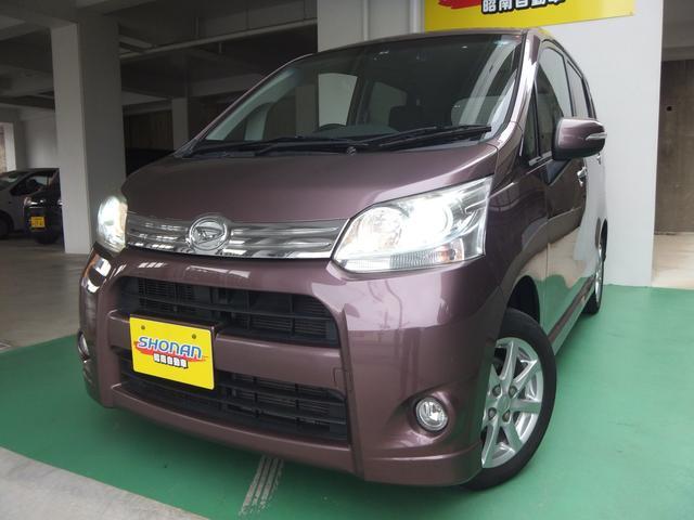 沖縄の中古車 ダイハツ ムーヴ 車両価格 73万円 リ済込 平成23年 7.9万km ワインM
