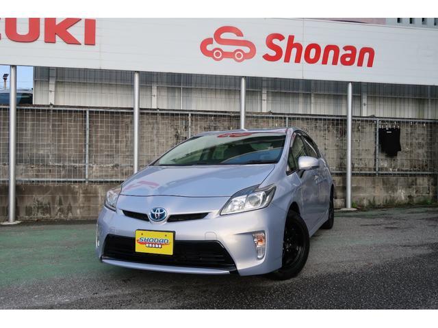 沖縄の中古車 トヨタ プリウス 車両価格 88万円 リ済込 2012(平成24)年 7.5万km ワインM