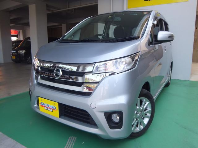 沖縄の中古車 日産 デイズ 車両価格 74万円 リ済込 平成25年 7.3万km シルバーM
