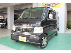 沖縄の中古車 ホンダ バモス 車両価格 23万円 リ済込 平成19年 12.0万K ブラック