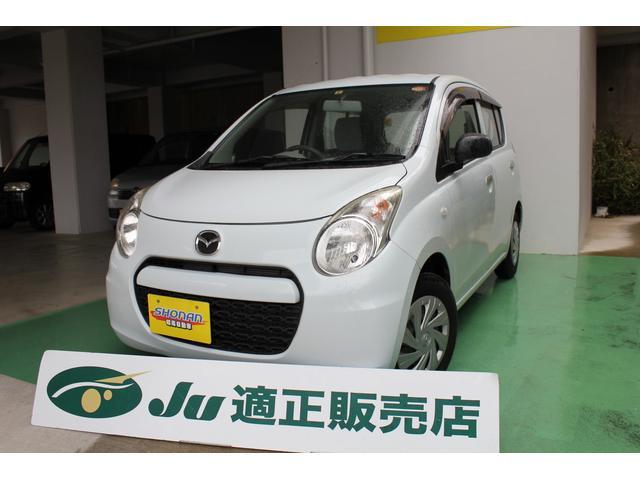 沖縄の中古車 マツダ キャロルエコ 車両価格 50万円 リ済込 平成25年 6.1万km ライトブルーM
