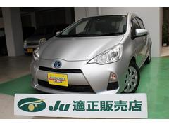 沖縄の中古車 トヨタ アクア 車両価格 88万円 リ済込 平成25年 6.0万K シルバーM