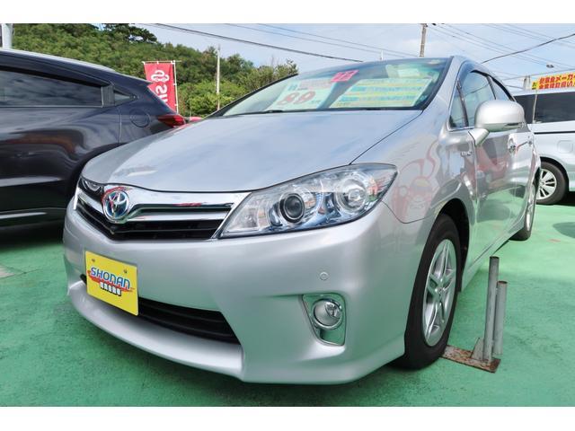 沖縄の中古車 トヨタ SAI 車両価格 88万円 リ済込 2010(平成22)年 7.2万km シルバーM