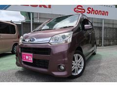 沖縄の中古車 スバル ステラ 車両価格 74万円 リ済込 平成23年 6.8万K ブラウンM