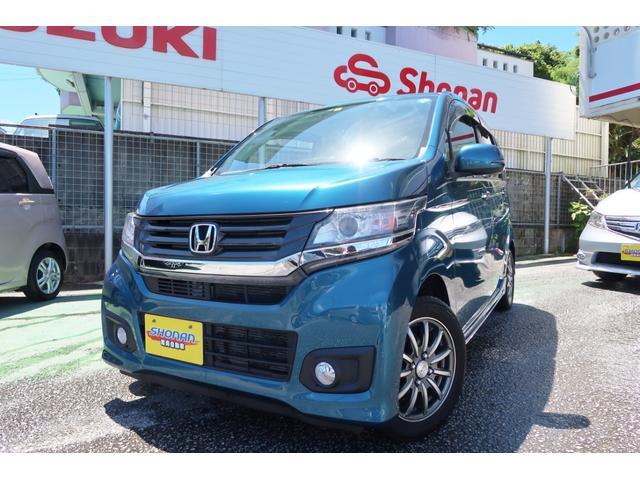 沖縄県の中古車ならN-WGNカスタム G メモリーナビ TV Bluetooth バックカメラ付