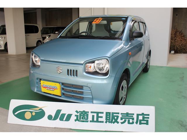 沖縄の中古車 スズキ アルト 車両価格 66万円 リ済込 平成27年 2.6万km ライトブルーM