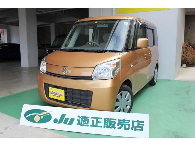 沖縄の中古車 スズキ スペーシア 車両価格 79万円 リ済込 平成25年 7.9万km オレンジM