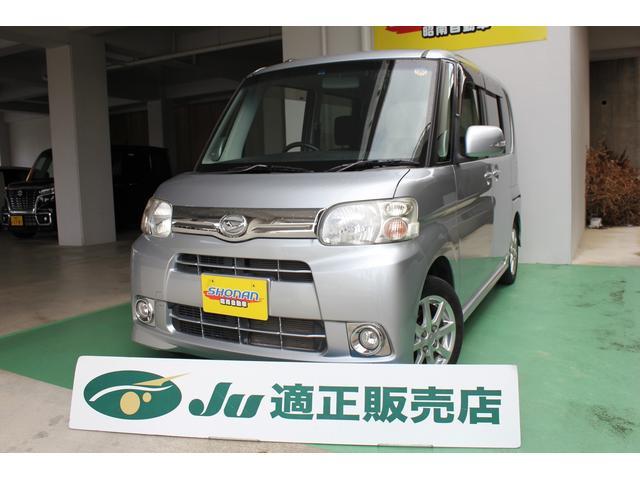 沖縄の中古車 ダイハツ タント 車両価格 77万円 リ済込 平成24年 6.7万km シルバーM