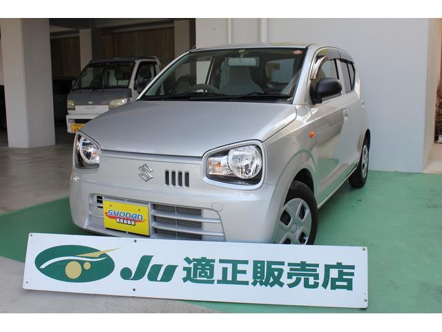 沖縄の中古車 スズキ アルト 車両価格 69万円 リ済込 平成27年 2.2万km シルバーM