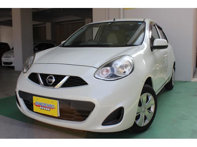 沖縄の中古車 日産 マーチ 車両価格 56万円 リ済込 平成25年 7.4万km パールM