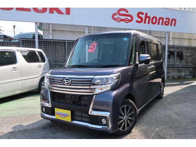 沖縄県の中古車ならタント カスタムX トップエディションSAII フルセグTVナビ Bluetooth ETC バックカメラ付き 禁煙車 両側スライド 内地仕入