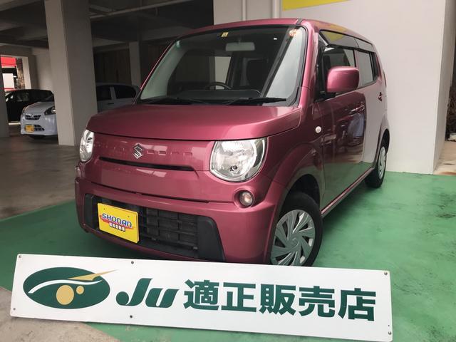 沖縄の中古車 スズキ MRワゴン 車両価格 64万円 リ済込 平成24年 6.8万km ピンクM