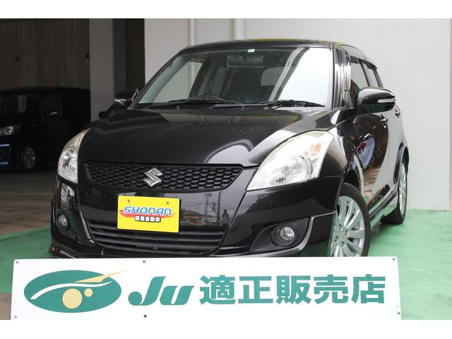 沖縄の中古車 スズキ スイフト 車両価格 68万円 リ済込 平成24年 7.9万km ブラックM