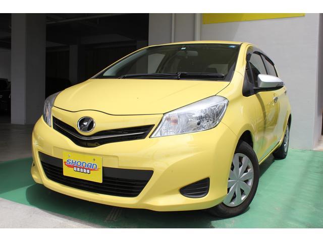 沖縄県の中古車ならヴィッツ ジュエラ TV ナビ付 ワンオーナー 2年保証 禁煙車