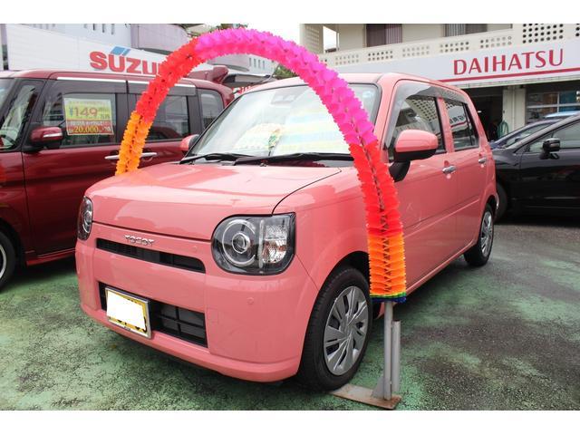 沖縄県の中古車ならミラトコット L SAIII 純正フルセグナビ Bluetooth付