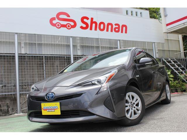 沖縄県中頭郡西原町の中古車ならプリウス S セーフティーセンス 社外ナビ Bluetooth 禁煙車