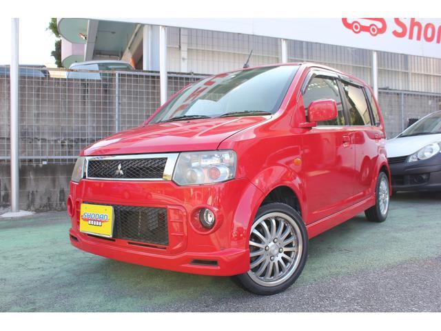 沖縄県の中古車ならeKスポーツ R ターボ 社外オーディオ ETC 現状販売