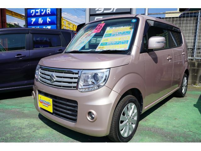 沖縄の中古車 スズキ MRワゴンWit 車両価格 69万円 リ済込 2014(平成26)年 7.7万km ピンクM