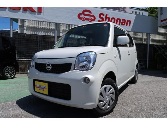 沖縄県の中古車ならモコ S パールホワイト 禁煙車 2年保証 修復歴なし ETC付き