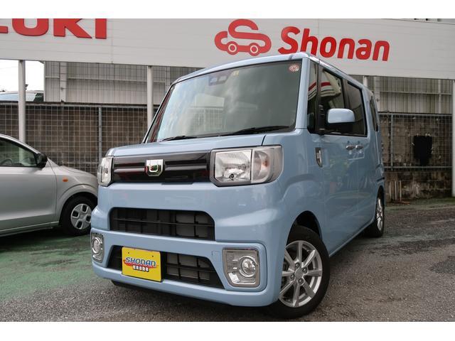 沖縄県の中古車ならウェイク L SAIII 両側パワースライド CD Bluetoothオーディオ 届出済未使用車  プッシュスタート