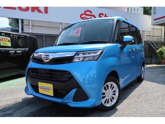 沖縄県の中古車ならトール G リミテッドII SAIII 登録済未使用車 両側パワースライド コーナーセンサー 走行6km