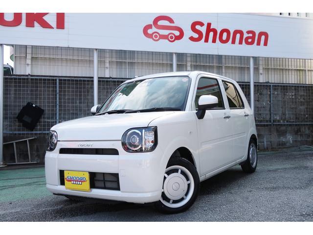 沖縄県の中古車ならミラトコット X SAIII 展示車UP コーナーセンサー 走行9km パールホワイト 2年保証付き