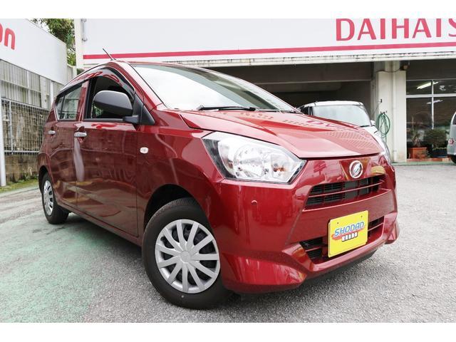 沖縄の中古車 ダイハツ ミライース 車両価格 84万円 リ済込 2020(令和2)年 661km レッドM