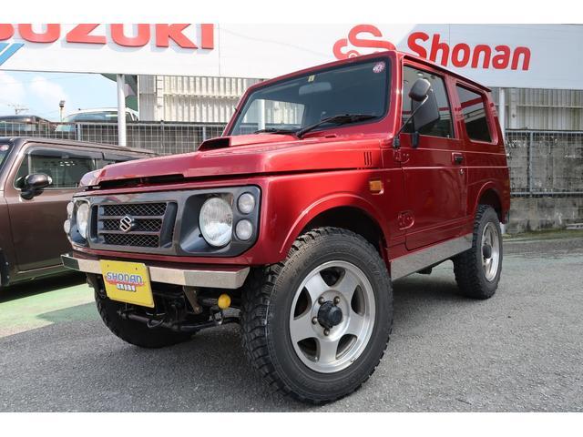 沖縄県の中古車ならジムニー XL 社外マフラー レザーシート 修復歴なし メッキパーツ 4WD 禁煙車