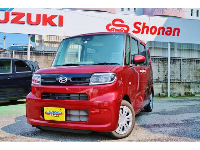 沖縄県の中古車ならタント Xターボセレクション 展示車UP ターボ付 SA-III 新品フルセグナビ Bluetooth 片側パワースライド