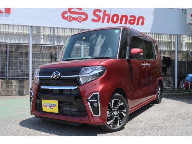 沖縄県の中古車ならタント カスタムX 試乗車UP 両側パワースライド LEDライト メーカー保証付き 走行5300km