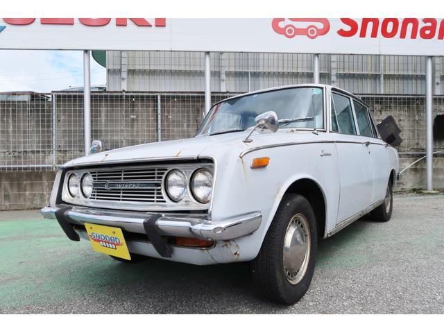 沖縄県の中古車ならコロナ  デラックス コラム3速 ワンオーナー 本土仕入れ レストアベース 昭和43年式