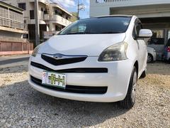 沖縄の中古車 トヨタ ラクティス 車両価格 16万円 リ済込 平成18年 13.4万K パールホワイト