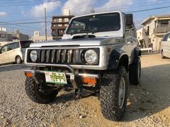 沖縄の中古車 スズキ ジムニー 車両価格 56万円 リ済込 平成7後 24.2万K シルバーM