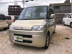 沖縄の中古車 ダイハツ タント 車両価格 27万円 リ済込 平成17年 7.1万K ゴールドM