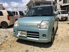 沖縄の中古車 スズキ アルト 車両価格 20万円 リ済込 平成16年 8.8万K グリーンM