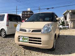 沖縄の中古車 日産 モコ 車両価格 23万円 リ済込 平成19年 8.8万K ミルクティーベージュM
