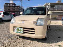 沖縄の中古車 スズキ アルト 車両価格 16万円 リ済込 平成19年 12.4万K ベージュ