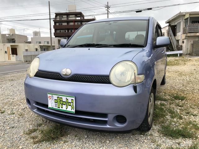 沖縄の中古車 トヨタ シエンタ 車両価格 10万円 リ済込 2003(平成15)年 14.0万km パープル