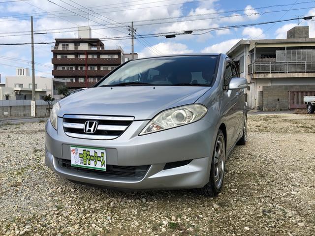 沖縄の中古車 ホンダ エディックス 車両価格 14万円 リ済込 2004(平成16)年 7.7万km シルバーM